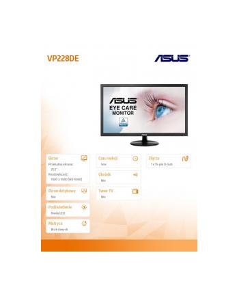 Monitor Asus VP228DE 21.5inch, FHD, D-Sub
