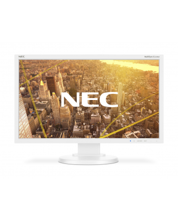 Monitor NEC E233WMi 23inch, VGA/DVI/DP, biały