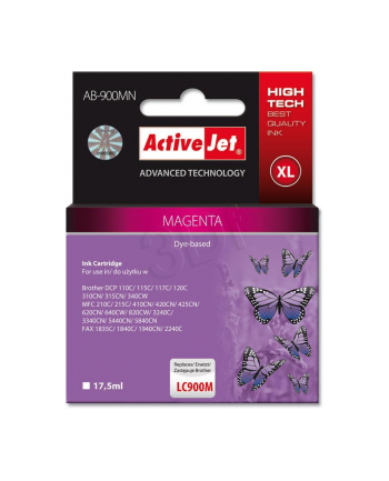 ActiveJet AB-900M tusz magenta do drukarki Brother (zamiennik LC900M)
