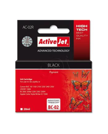ActiveJet AC-02 tusz czarny do drukarki Canon (zamiennik BC-02)