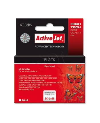 ActiveJet AC-3eBK tusz czarny do drukarki Canon (zamiennik BCI-3eBK)