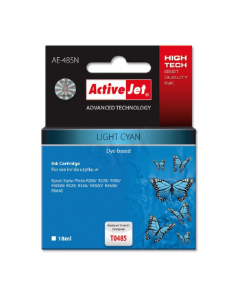ActiveJet AE-485 tusz light cyan pasuje do drukarki Epson (zamiennik T0485)