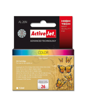 ActiveJet AL-26N tusz kolorowy do drukarki Lexmark (zamiennik 10N0026)