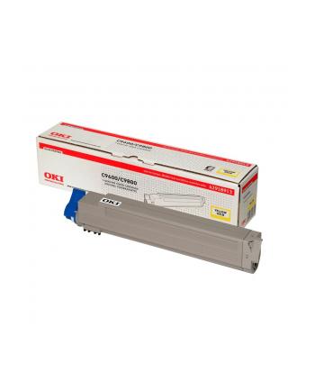 Toner C9600/9800    Yellow