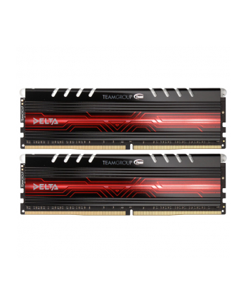 Team Group Delta Series rote LED, DDR4-2400, CL15 - 32 GB Kit