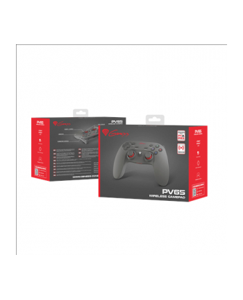 Natec GAMEPAD GENESIS PV65 BEZPRZEWODOWY (DO PS3/PC)