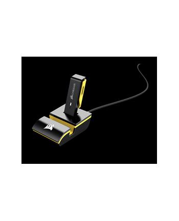 Corsair słuchawki gamingowe bezprzewodowe Void Pro RGB Dolby7.1,Czarne/Żółte(EU)