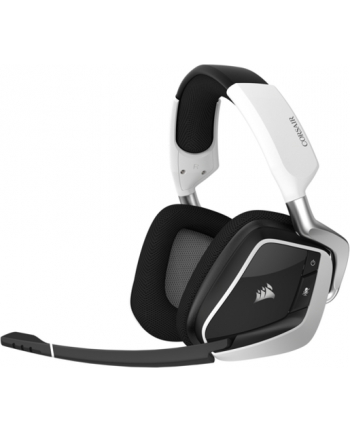 Corsair słuchawki gamingowe bezprzewodowe Void Pro RGB Dolby 7.1, Białe (EU)