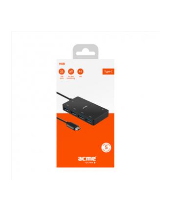 Hub USB ACME HB530, 4 porty USB 3.0, wtyk USB 3.0 type-C