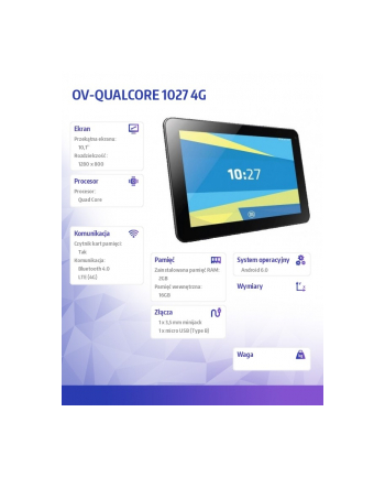 Tablet Overmax Qulcore 1027 4G