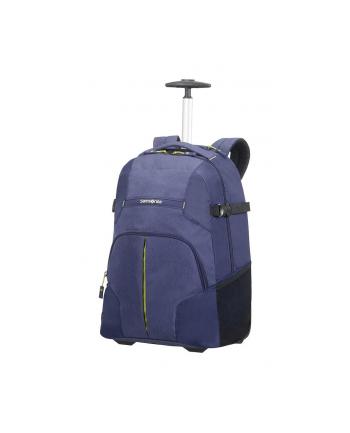 Plecak SAMSONITE 10N11006 REWIND 16''2kółka,komp,tblt,dok.kiesz,ciemno niebieski