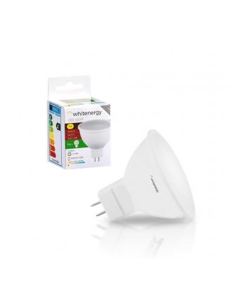 Whitenergy żarówka LED | GU5.3 | 8 SMD 2835 | 7W | 230V | mleczne | MR16