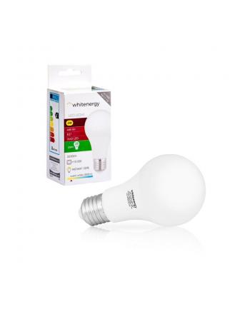 Whitenergy żarówka LED   E27   10 SMD3528   5W  230V   ciepła biała   A60