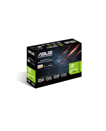 ASUS GeForce GT 710, 2 GB GDDR5 , DVI / HDMI