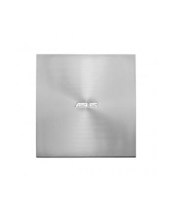 Asus nagrywarka zewnętrzna SDRW-08U9M-U, USB Type-C/Type-A, Ultra-Slim, Srebna