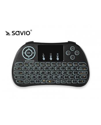 Elmak SAVIO WK-01 Klawiatura bezprzewodowa Android TV Box, Smart TV, PS3, XBOX360, PC