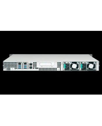 QNAP 4-Bay TurboNAS, SATA 6G, Quad Core 1,5GHz, 4GB, 4x GbE LAN, 4xUSB w/o rails