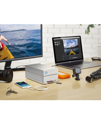 Dysk zewnętrzny LaCie 2big Dock Thunderbolt 3 , 16Tb ,THUNDERBOLT 3 + USB 3.1