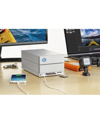 Dysk zewnętrzny LaCie 2big Dock Thunderbolt 3 , 8Tb ,THUNDERBOLT 3 + USB 3.1