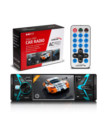 Audiocore AC9900 Radioodtwarzacz MP5 AVI DVIX Bluetooth handsfree + pilot
