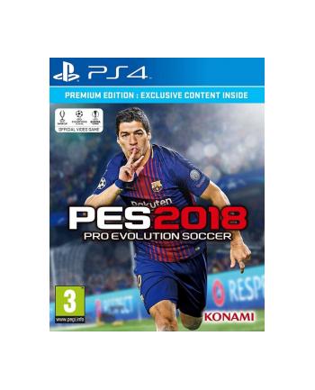 Techland Gra PS4 PES 2018 Premium