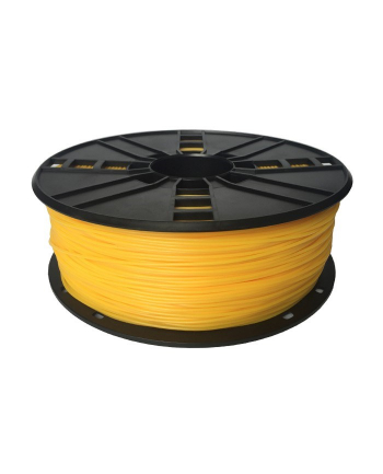 Filament Gembird TPE FLEXIBLE Yellow | 1,75mm | 1kg