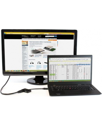 StarTech.com Travel A/V adapter: DisplayPort to HDMI or VGA - Video converter - DisplayPort - black