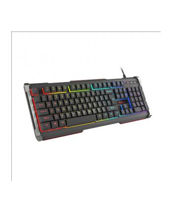 Natec Klawiatura Genesis Rhod 400 przewodowa podświetlana RGB dla graczy