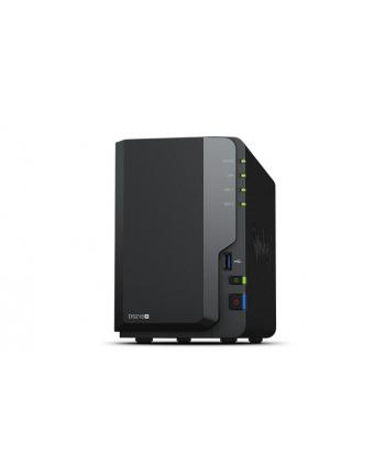 Synology DS218+, 2-Bay SATA 3G, 2.0GHz, 2GB RAM, 1x GbE LAN, 3xUSB 3.0