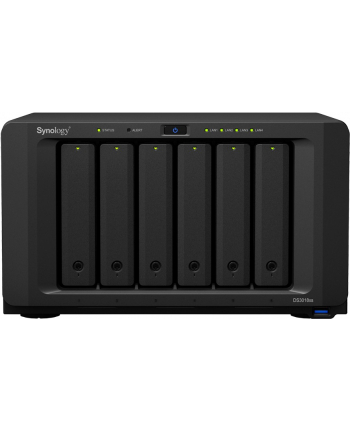 Synology Inc. Synology DS3018xs, 8-Bay SATA, Intel 2C 2,2 GHz, 8GB RAM, 4xGbE LAN, 3xUSB 3.0