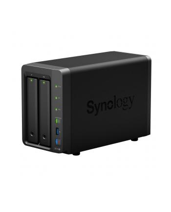 Synology Inc. Synology DS718+, 2-Bay SATA 3G, Celeron 1,5GHz, 2GB RAM, 2x GbE LAN, 3xUSB 3.0