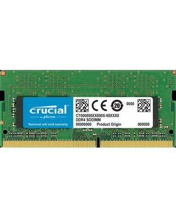 Crucial pamięć DDR4 8GB 2666MHZ, SODIMM, CL19