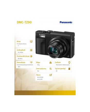 Aparat cyfrowy Panasonic Lumix DMC-TZ90EP-K