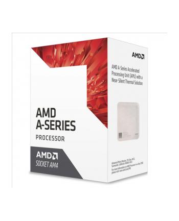AMD A8 9600 (Bristol Ridge), 4-core, 3.4GHz,cache 2MB, 65W, soc. AM4, VGA Radeon R7, BOX