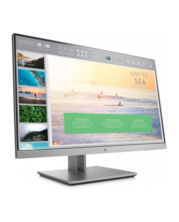 HP LCD E233 23 1920x1080, IPS LED 250 cd/m2, 1000:1, 5 ms g/g, VGA, DP 1.2, HDMI 1.4, USB3.0