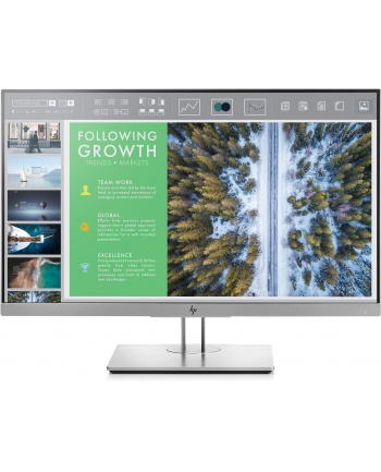 HP LCD E243 23.8 1920x1080, IPS LED 250 cd/m2, 1000:1, 5 ms g/g, VGA, DP 1.2, HDMI 1.4, USB3.0
