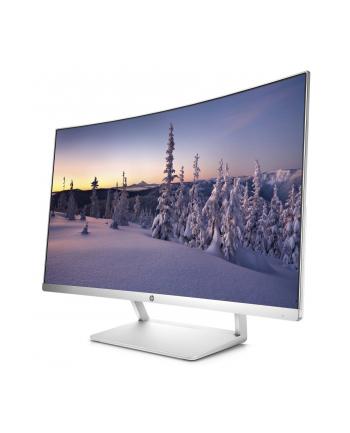 HP LCD VA Curved Display 27es LED backlight AG 27'', 1920x1080,10M:1, 300cd,5ms,DP 1.2,HDMI,VESA,white
