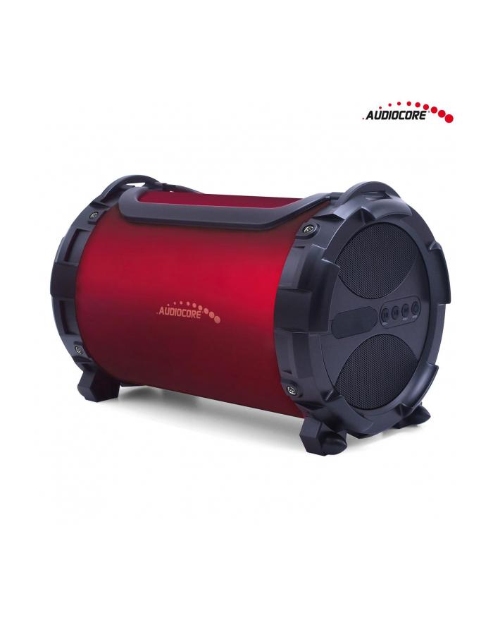 GreenBlue Audiocore AC880 Głośnik bazooka, bluetooth, FM, karta microSD, bordowy, 2000mAh główny