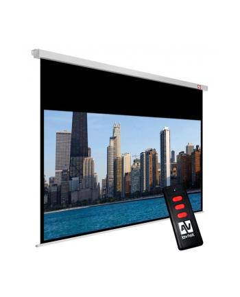 Ekran elektryczny Avtek Video Electric 200 4:3, Matt White, przekątna 240 cm