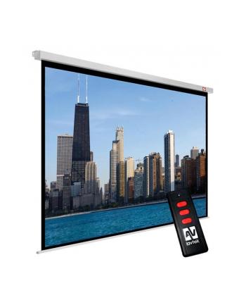 Ekran elektryczny Avtek Video Electric 300P 4:3, Matt White, przekątna 361 cm