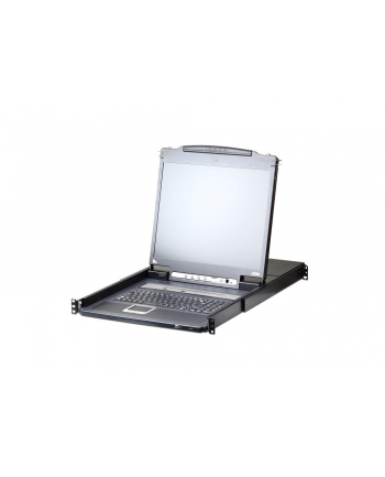ATEN KVM 8 port LCD LED 17'' + keyboard + touchpad USB-PS/2, IP Admin