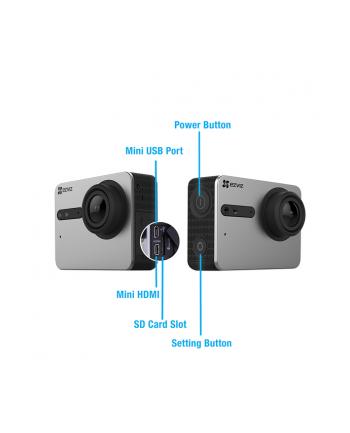 EZVIZ S5 (Black) - Kamera Sportowa