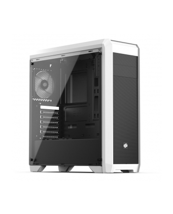 SilentiumPC Regnum RG4FT Tempered Glass Frosty White