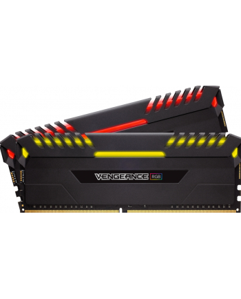 Corsair DDR4 16 GB 2666-CL16 - Dual-Kit - Vengeance RGB Black