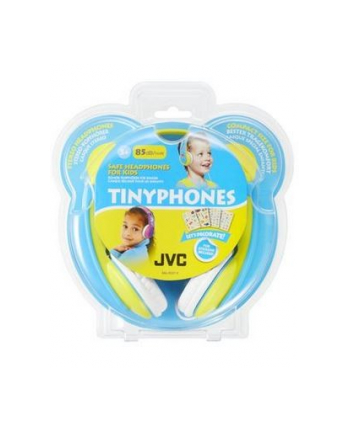 JVC HA-KD7 Yellow&Blue
