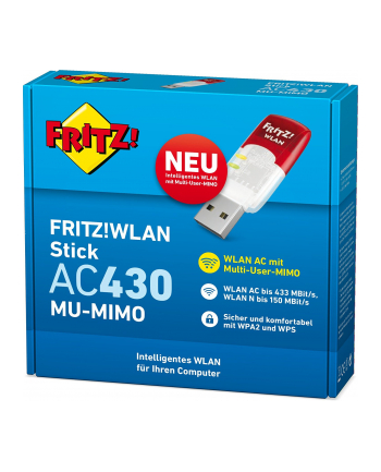 AVM FRITZ!WLAN Stick AC 430 MU-MIMO - WiFi - USB