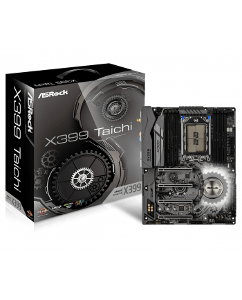 ASRock MB Sc TR4 x399 Taichi, AMD X399, 8xDDR4, ATX