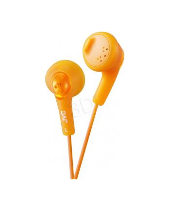 Słuchawki JVC HA-F160-D-E douszne pomarańczowe