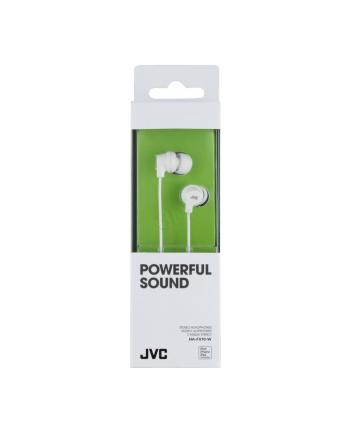 Słuchawki JVC HA-FX10-W-E douszne białe