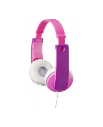 Słuchawki dla dzieci JVC HA-KD7-P-E  różowo-fiol.